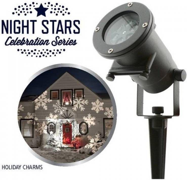 Bekend van TV Night Stars Led Projector Incl. 6 Thema Patronen online kopen