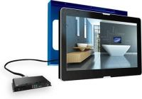 Douche ConcurrentBadkamerTV LED Aquasound Exclusive Inbouw 27 Inch HDMI