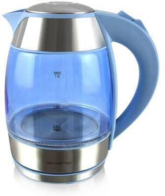 Emerio WK-108082.6 1.8l 2200W Blauw, Zilver waterkoker online kopen