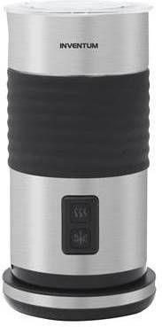 Inventum MK460 Automatische melkopschuimer Zwart, Roestvrijstaal melkschuimer online kopen