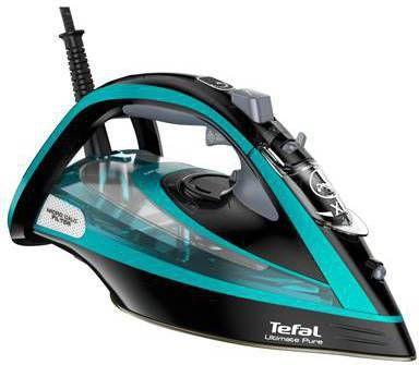 Tefal Ultimate Pure FV9844 Stoom- en strijkijzers Turquoise online kopen