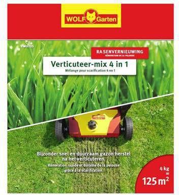 Wolf-Garten Meststof Voor Gazon Verticuteermix 4-in-1 V-mix 125 online kopen