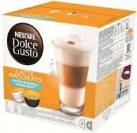 Nescafe Dolce GustoDolce Gusto Latte Macchiato Unsweeted Cups & Capsules