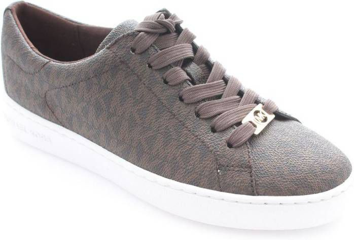 Michael Kors Sneakers Keaton Lace Up Bruin online kopen