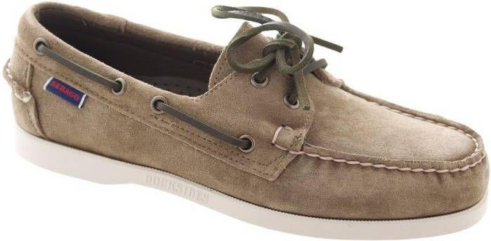 Kaki Bootschoenen Sebago Dockside online kopen