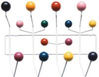 Vitra Hang it all Eames kapstok multi color